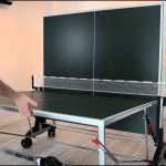 Folded Ping Pont table