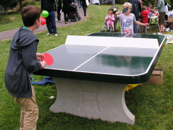 Ping pong table outdoor
